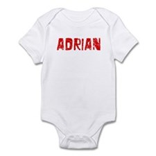 Adrian Faded (Red) Infant Bodysuit