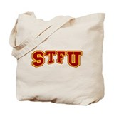 STFU Funny Fake University Tote Bag