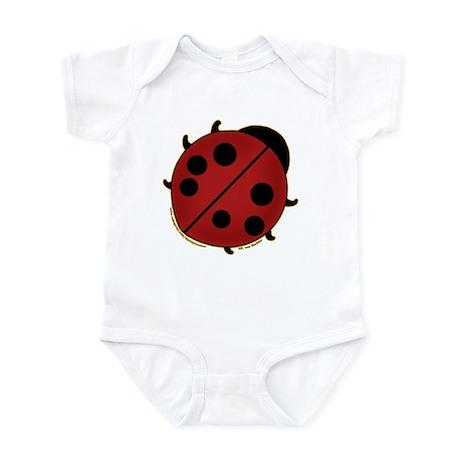 Cute Ladybug Design 2 Infant Bodysuit