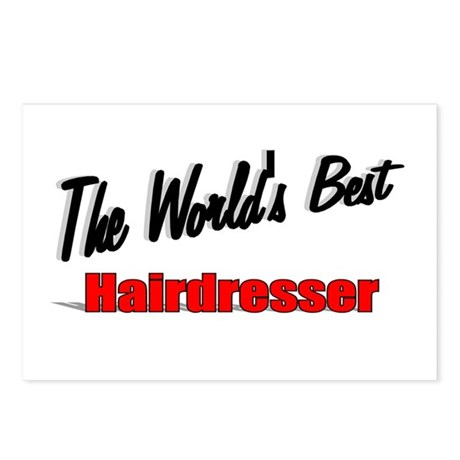 &quot;The World's Best Hairdresser&quot; Postcards (Package