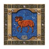 Aries Tile Coasters