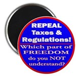 Repeal Taxes #3c Magnet