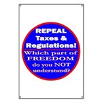Repeal Taxes #3c Banner