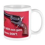 Free Men Own Guns Mug