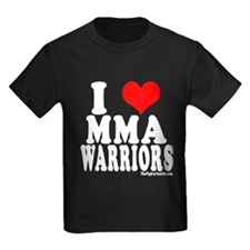 I LOVE MMA WARRIORS T