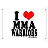 I LOVE MMA WARRIORS Banner