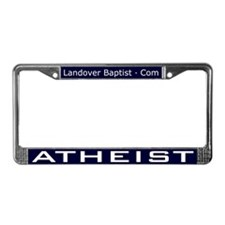 Cute Jesus liberal License Plate Frame