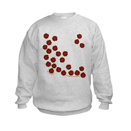 Lots of Little Ladybugs Kids Sweatshirt