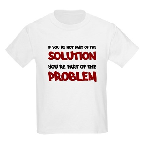 Part of the Solution Kids Light T-Shirt