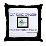 My Lasik Worked Throw Pillow