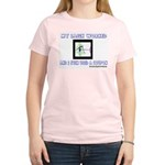 My Lasik Worked Women's Pink T-Shirt