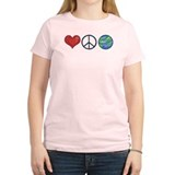 Love Peace Earth T-Shirt