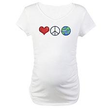 Love Peace Earth Shirt