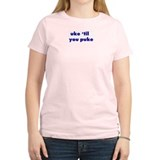 Uke 'til you puke Women's Pink T-Shirt
