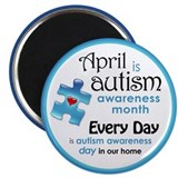"April Every Day (B) 2.25"" Magnet (100 pack)"