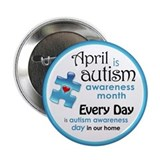 April Every Day (B) 2.25&amp;quot; Button