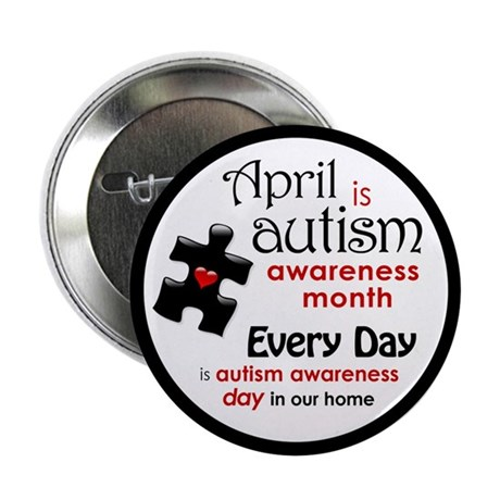 "April Every Day (K) 2.25"" Button"