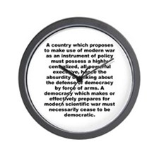 Cool Aldous huxley quote Wall Clock