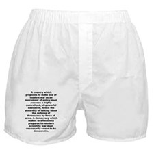 Aldous huxley quote Boxer Shorts