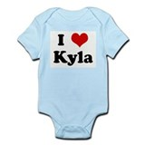 I Love Kyla Infant Bodysuit