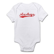 Vintage Muskego (Red) Infant Bodysuit