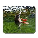 Bottoms Up Duck Mousepad