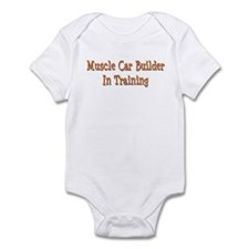 Muscle Car Builder In Training Infant Bodysuit
