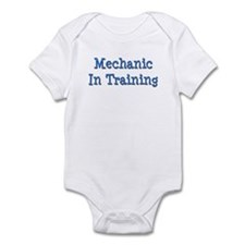 Blue Mechanic In Training Infant Bodysuit