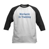 Blue Mechanic In Training Tee