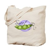 Sweet Baby Pea Tote Bag