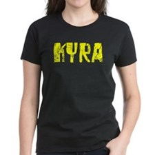 Kyra Faded (Gold) Tee