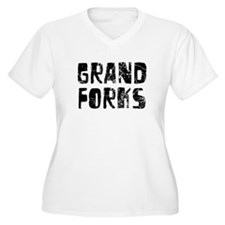 Grand Forks Faded (Black) T-Shirt