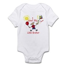 Love Little Brother Boy Onesie