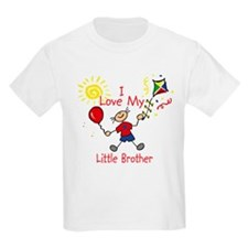 Love Little Brother Boy T-Shirt