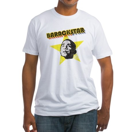 BarackStar Fitted T-Shirt