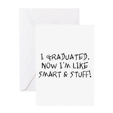 Smart & Stuff Graduate Greeting Card