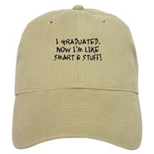 Smart & Stuff Graduate Baseball Cap