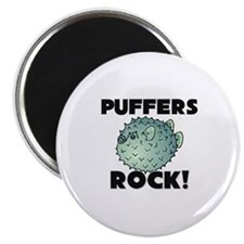 """Puffers Rock! 2.25"""" Magnet (10 pack)"""