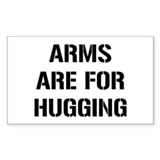 Arms for Hugs Rectangle Decal