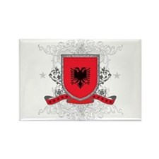 Albania Shield Rectangle Magnet