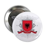 "Albania Shield 2.25"" Button"