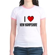 I LOVE NEW HAMPSHIRE T