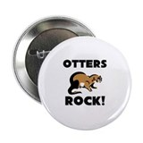 "Otters Rock! 2.25"" Button"