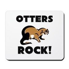 Otters Rock! Mousepad