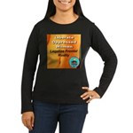 Liberate Oppressed Women Women's Long Sleeve Dark