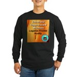 Liberate Oppressed Women Long Sleeve Dark T-Shirt