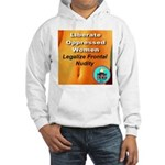 Liberate Oppressed Women Hooded Sweatshirt
