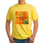 Liberate Oppressed Women Yellow T-Shirt