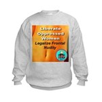 Liberate Oppressed Women Kids Sweatshirt