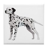 Proud Dalmatian Tile Coaster
